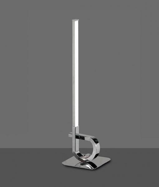 Lámpara de mesa cromo CINTO LED