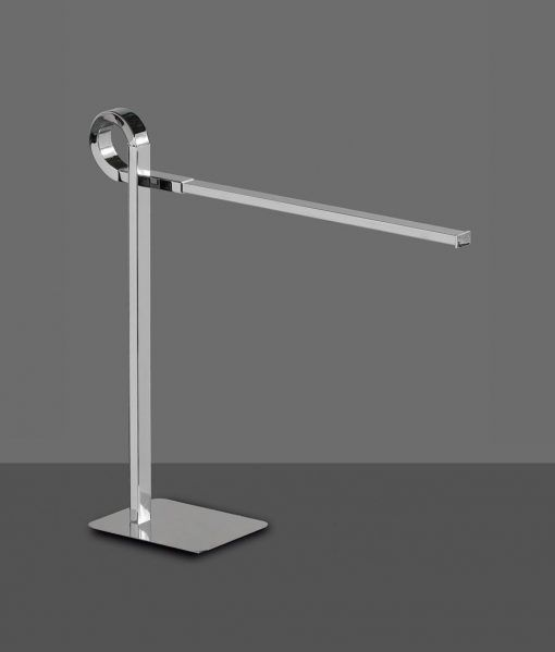 Lámpara de sobremesa cromo CINTO LED