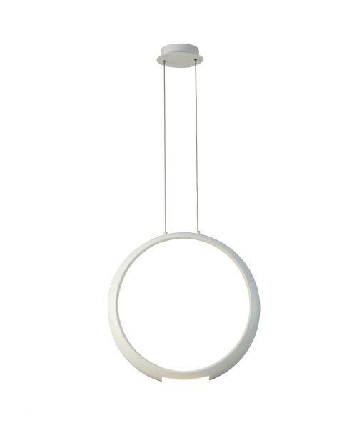 Lámpara de techo blanca RING LED