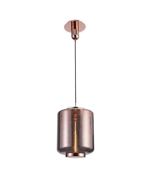 Lámpara de techo mediana cobre JARRAS