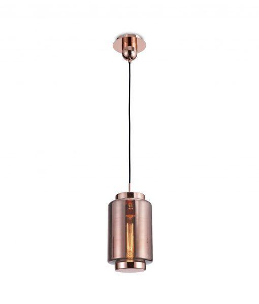 Lámpara de techo tamaño XS cobre JARRAS