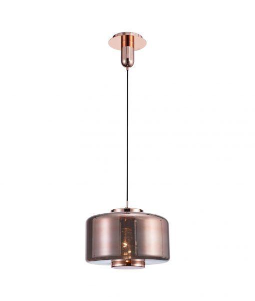 Lámpara grande de techo cobre JARRAS