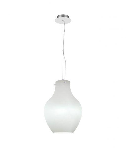 Lámpara ideal comedor blanca ANFORA
