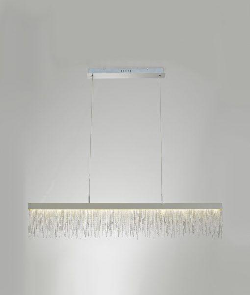 Lámpara lineal de comedor CINNA LED detalle