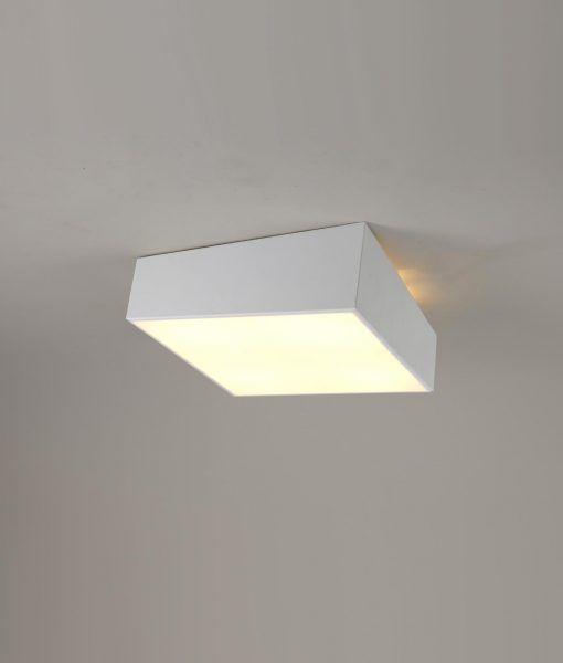 Lámpara plafón minimalista blanco MINI