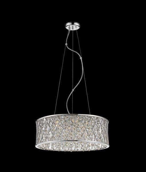 Lámpara colgante brillo DESTELLO detalles sobre fondo negro
