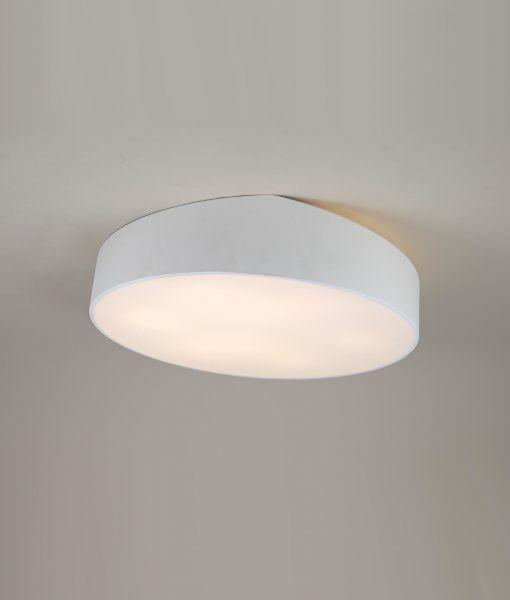 Plafón grande circular blanco MINI