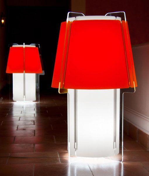 Lámpara de suelo 110 cm de alto ZONA ambiente