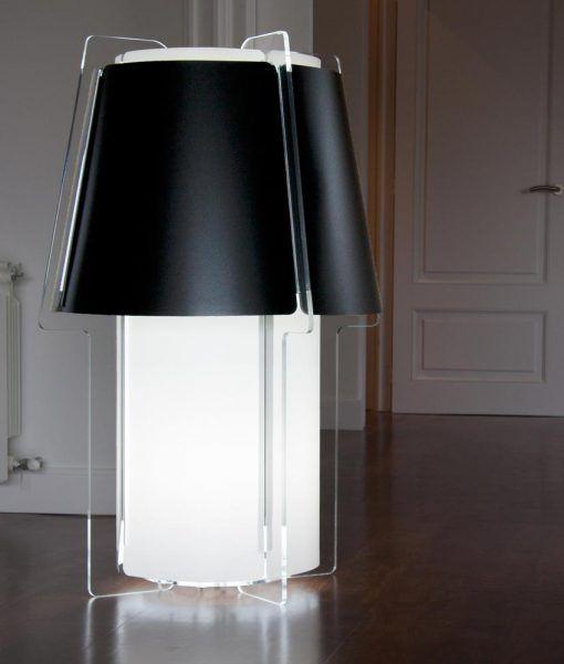Lámpara de suelo 110 cm de alto ZONA ambiente 3