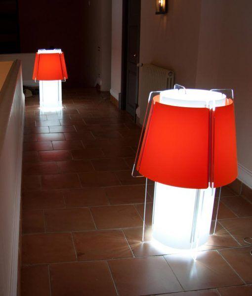 Lámpara de suelo 110 cm de alto ZONA ambiente 2