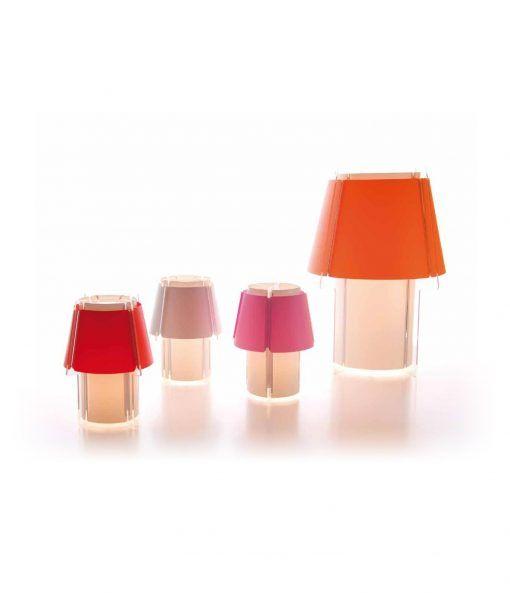 Lámpara de mesa ZONA detalles 2