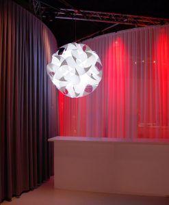 Lámpara de techo 47 cm diámetro GEIGERLITE ambiente