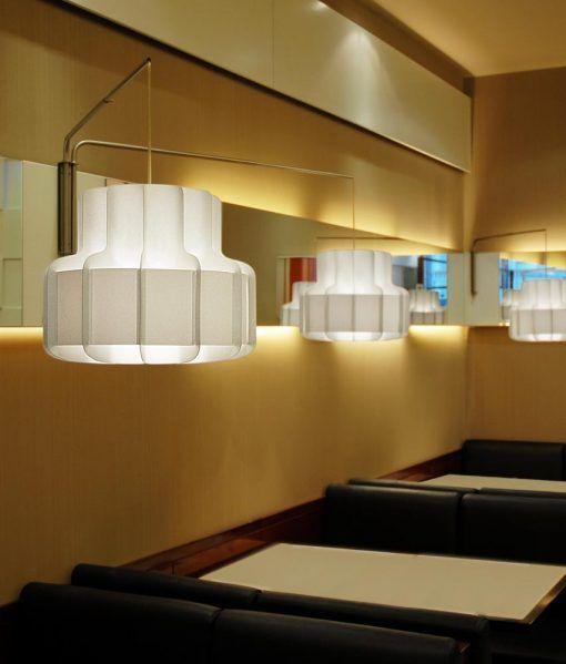 Ambiente lámpara colgante look años 60 BANDA 2