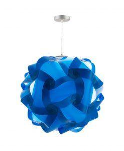 Lámpara colgante 70 cm diámetro COL azul