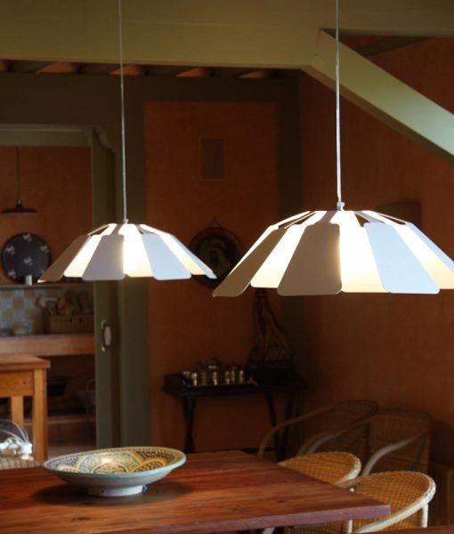 Lámpara colgante 64 cm diámetro PAISTE ambiente 2