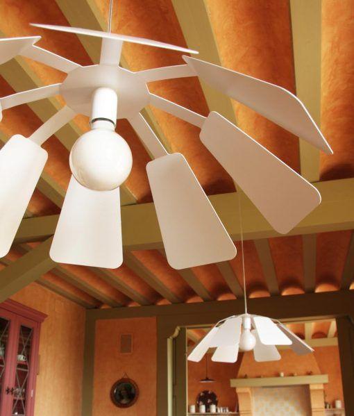Lámpara colgante 64 cm diámetro PAISTE ambiente 3