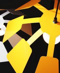 Lámpara colgante 64 cm diámetro PAISTE ambiente
