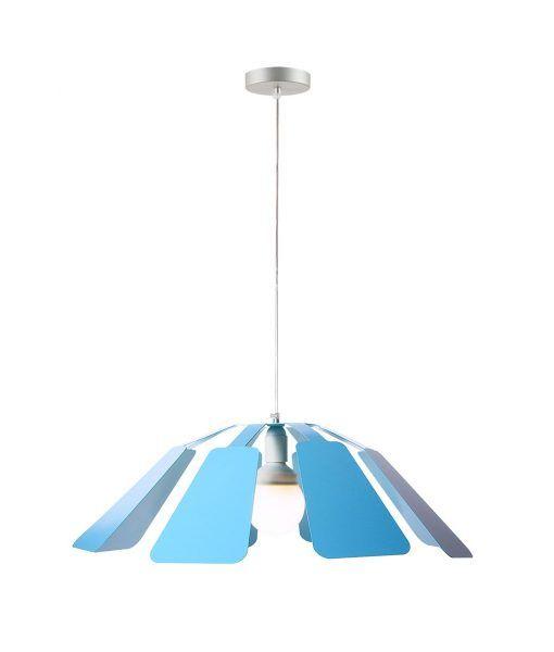 Lámpara colgante 64 cm diámetro PAISTE azul