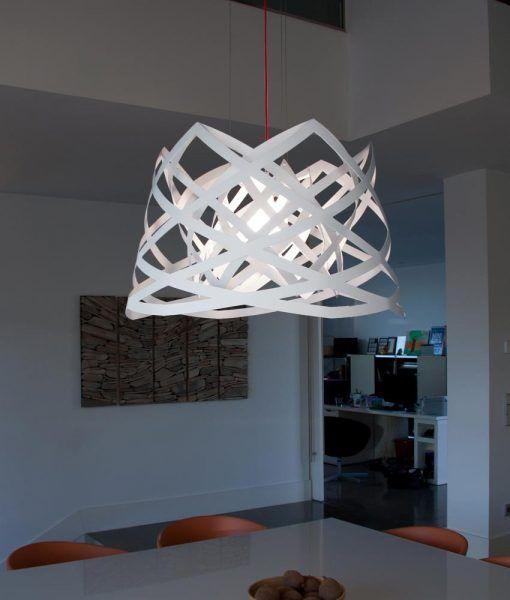 Lámpara de techo 45 cm diámetro RUT ambiente 2