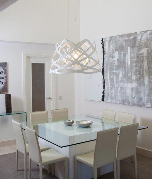 Lámpara de techo 45 cm diámetro RUT ambiente