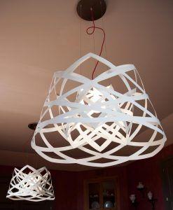 Lámpara de techo 45 cm diámetro RUT ambiente 4