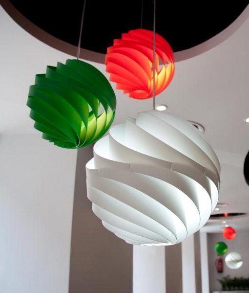 Lámpara de techo TWISTER ambiente