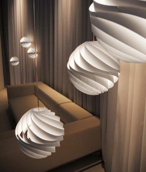 Lámpara de techo TWISTER ambiente 2
