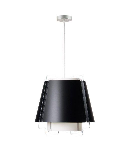 Lámpara de techo 43 cm diámetro ZONA negra