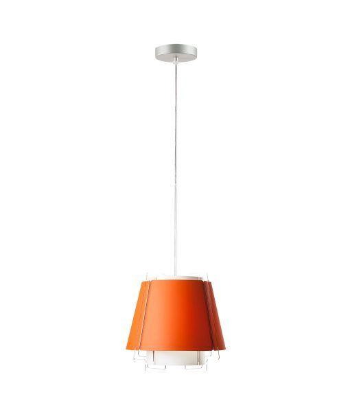 Lámpara de techo 22 cm diámetro ZONA naranja