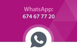 Contacta por WhatsApp con La Casa de la Lámpara