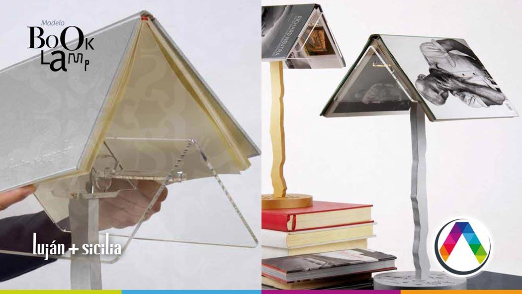 Lámparas de mesa Luján + Sicilia - Modelo BOOK LAMP