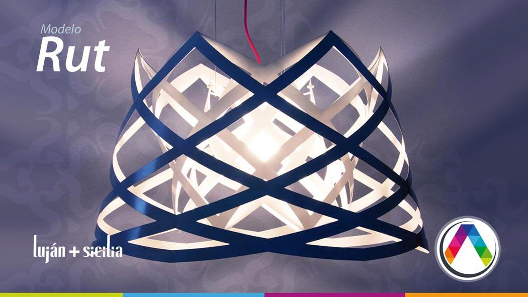 Lámparas de suspensión Luján + Sicilia - Modelo RUT