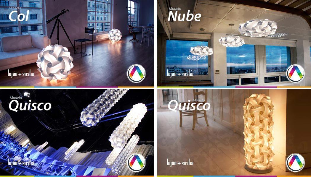 Lámparas Luján + Sicilia - Modelos COL, QUISCO y NUBE