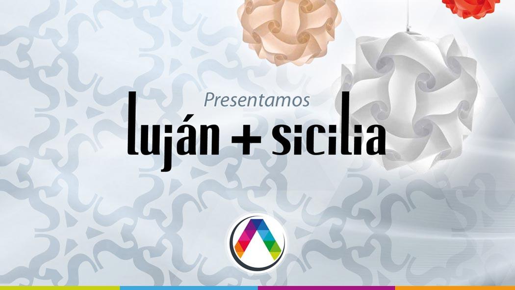 Lámparas Luján + Sicilia en La Casa de la Lámpara