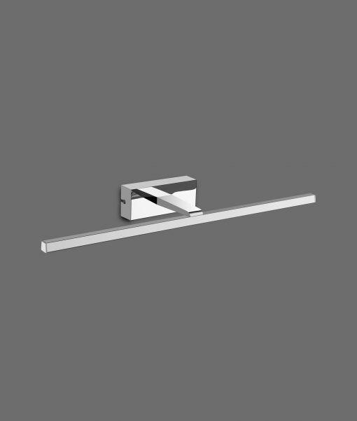Aplique alta protección LED cromo 8W luz cálida YAQUE