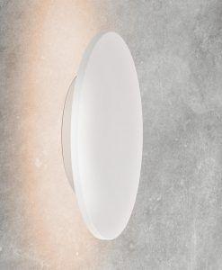 Aplique circular blanco BORA BORA LED detalle
