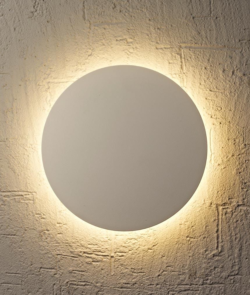 Aplique circular blanco BORA BORA LED