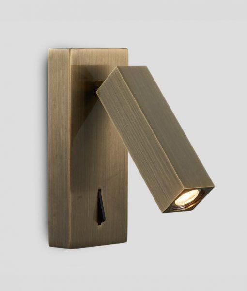 Aplique LED 3W acabado color cuero TARIFA