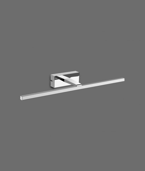 Aplique LED cromo 8W luz neutra YAQUE