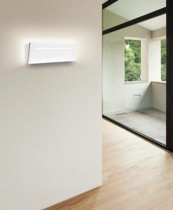 Aplique rectangular LED 16W blanco TOJA ambiente