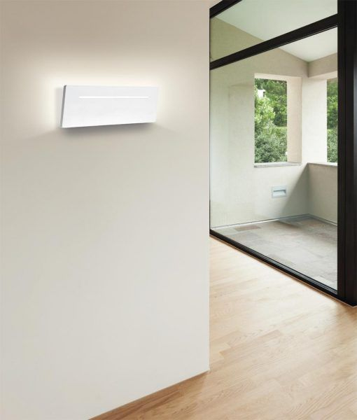 Aplique rectangular LED 16W blanco TOJA ambiente