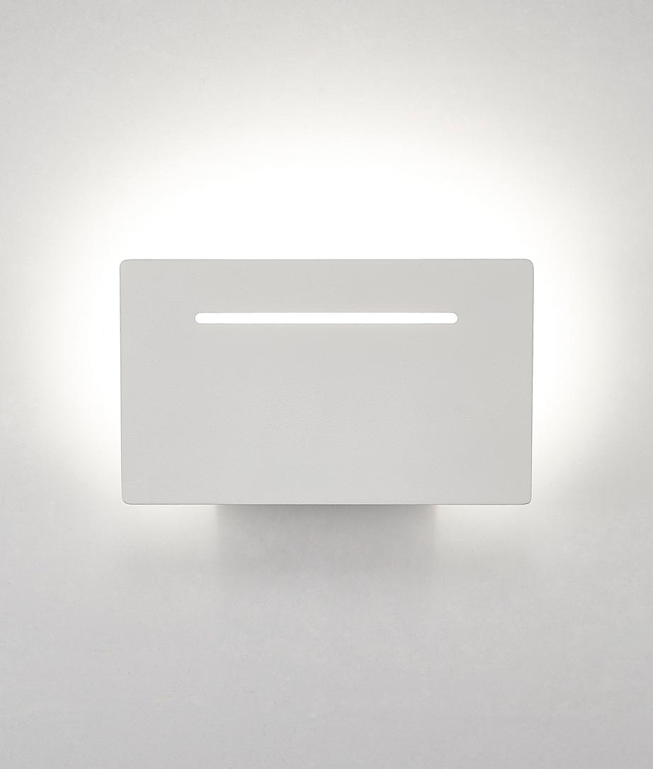 Aplique rectangular LED 8W blanco TOJA