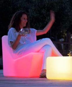 Asiento con luz interior confortable TARIDA SIT ambiente