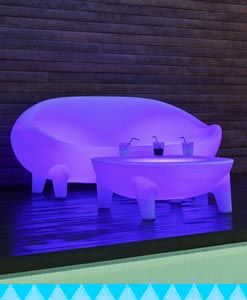 Muebles con luz exterior