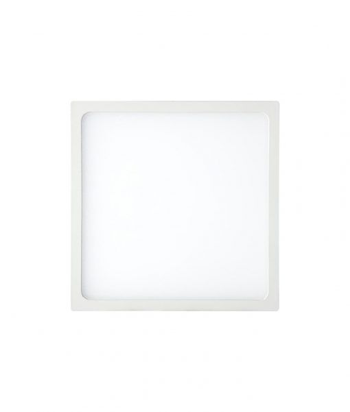 Empotrable fino cuadrado 12W blanco luz cálida SAONA