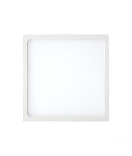 Empotrable fino cuadrado 18W blanco luz cálida SAONA