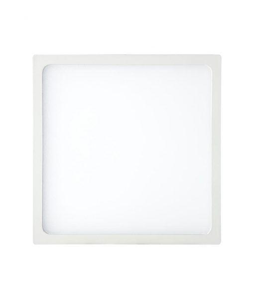 Empotrable fino cuadrado 24W blanco luz cálida SAONA