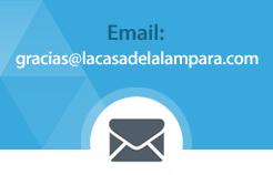 ¡Escríbenos! Contacta por Email con La Casa de la Lámpara