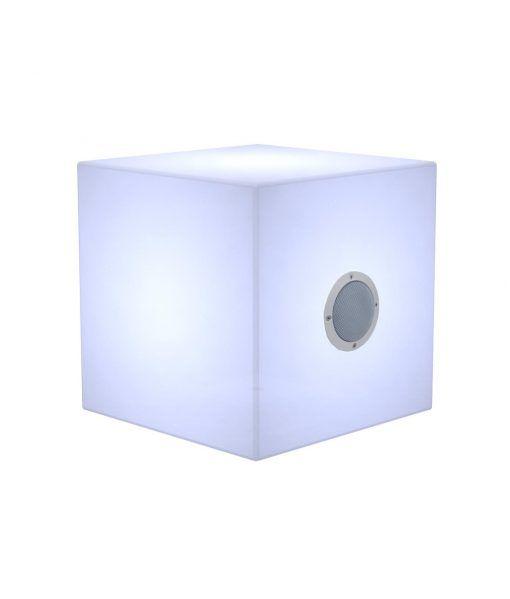 Lámpara cajón con luz y altavoces CUBY PLAY