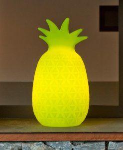 Lámpara de mesa piña color lima SAMBA ambiente